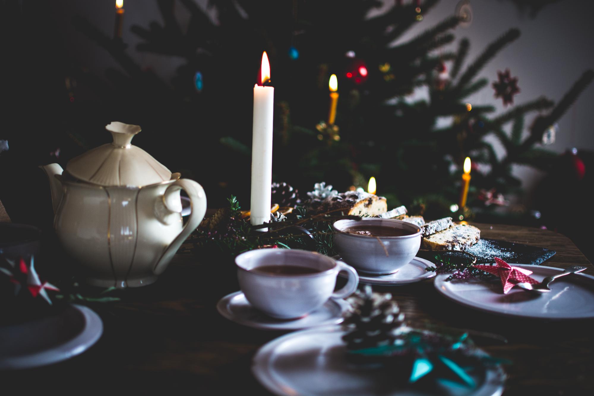 Tannenbaum Mit Kerzen.Stollen Kerzen Und Tannenbaum Victoria Belikova Fotografie